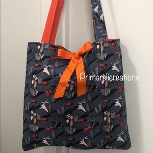 Disney jack and sally tote